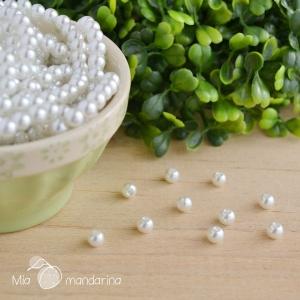 100 Perlas cristal 6mm