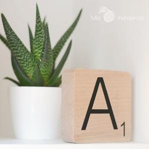 Letras Scrabble Pequeñas - Producto HANDMADE