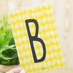 1 Postal Letra B Dailylike