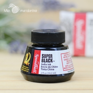 Tinta negra Speedball 59 mL