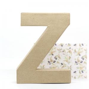 Letra Z cartón craft