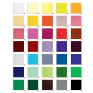 Papel Crepe 35 colores 250x50cm