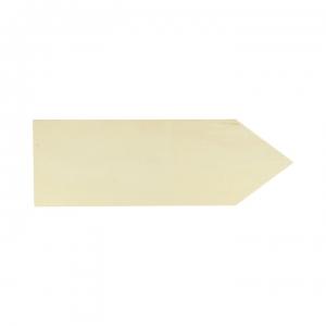 Placa flecha madera