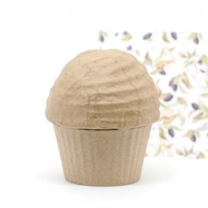 1 Cupcake cartón craft