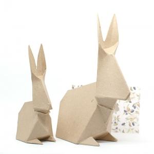1 Conejo cartón craft