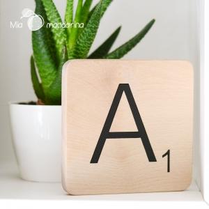 Letras Scrabble Slim