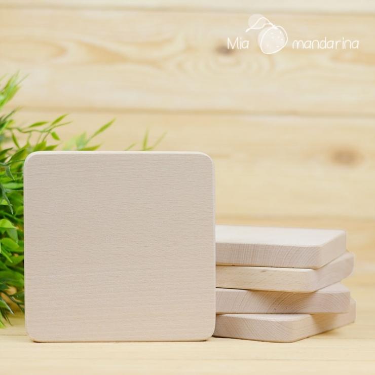 Bloque madera Slim 12x12cm
