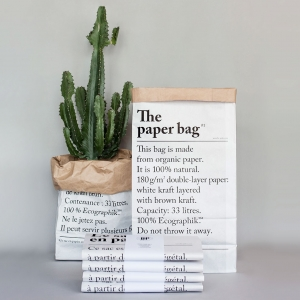 Le sac en papier - The paper bag