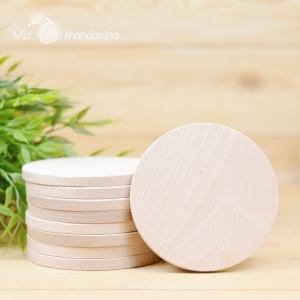 Círculo madera Slim 10x0.8 cm