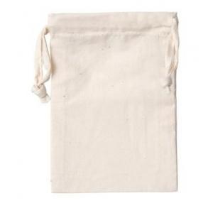 6 Bolsitas tela cordón 10x15 cm