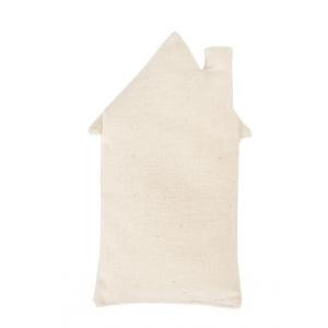 1 Casa de tela 13x7 cm