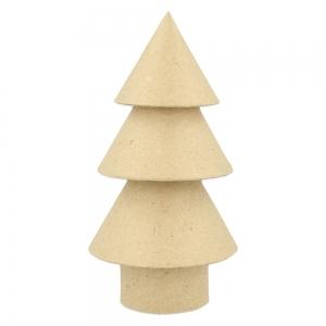 Árbol Navidad cartón craft