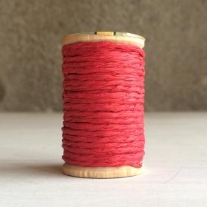 10m Cordón papel granate