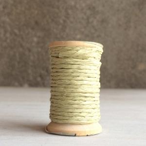 10m Cordón papel beige